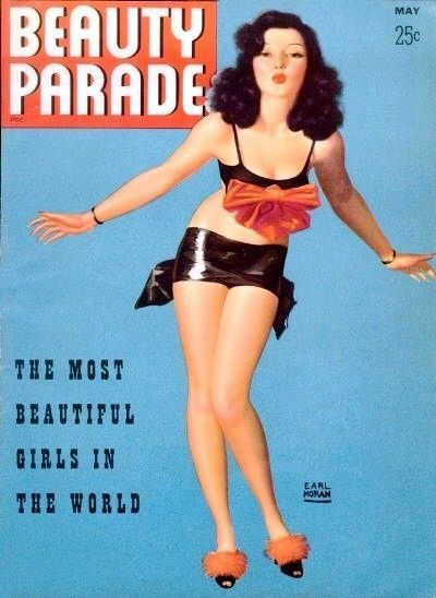 Magazine Beauty Parade 1942