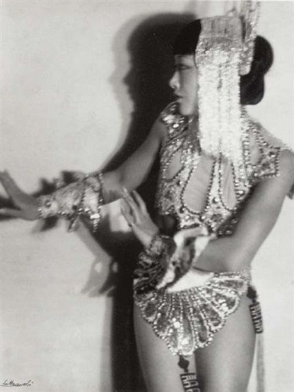 Anna May Wong, c. 1930 by Lotte Johanna Jacobi