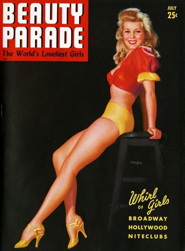 Magazine Beauty Parade July 1943