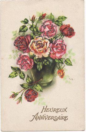 cartes postales anniversaire