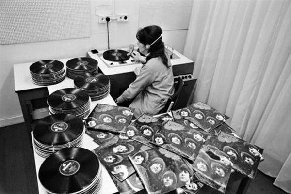 Quality control for the vinyl pressings of The Beatles