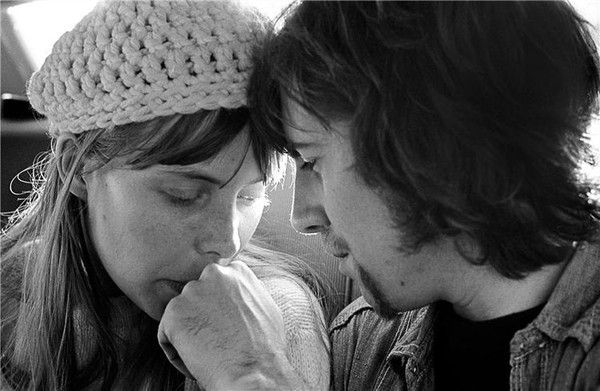 Joni Mitchell with Graham Nash