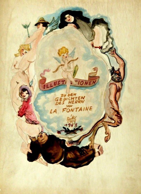 Szekély Alexander - La Fontaine, 1954 - 1963.