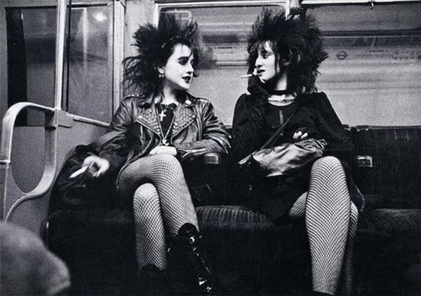 Punk Girls, 1970's.