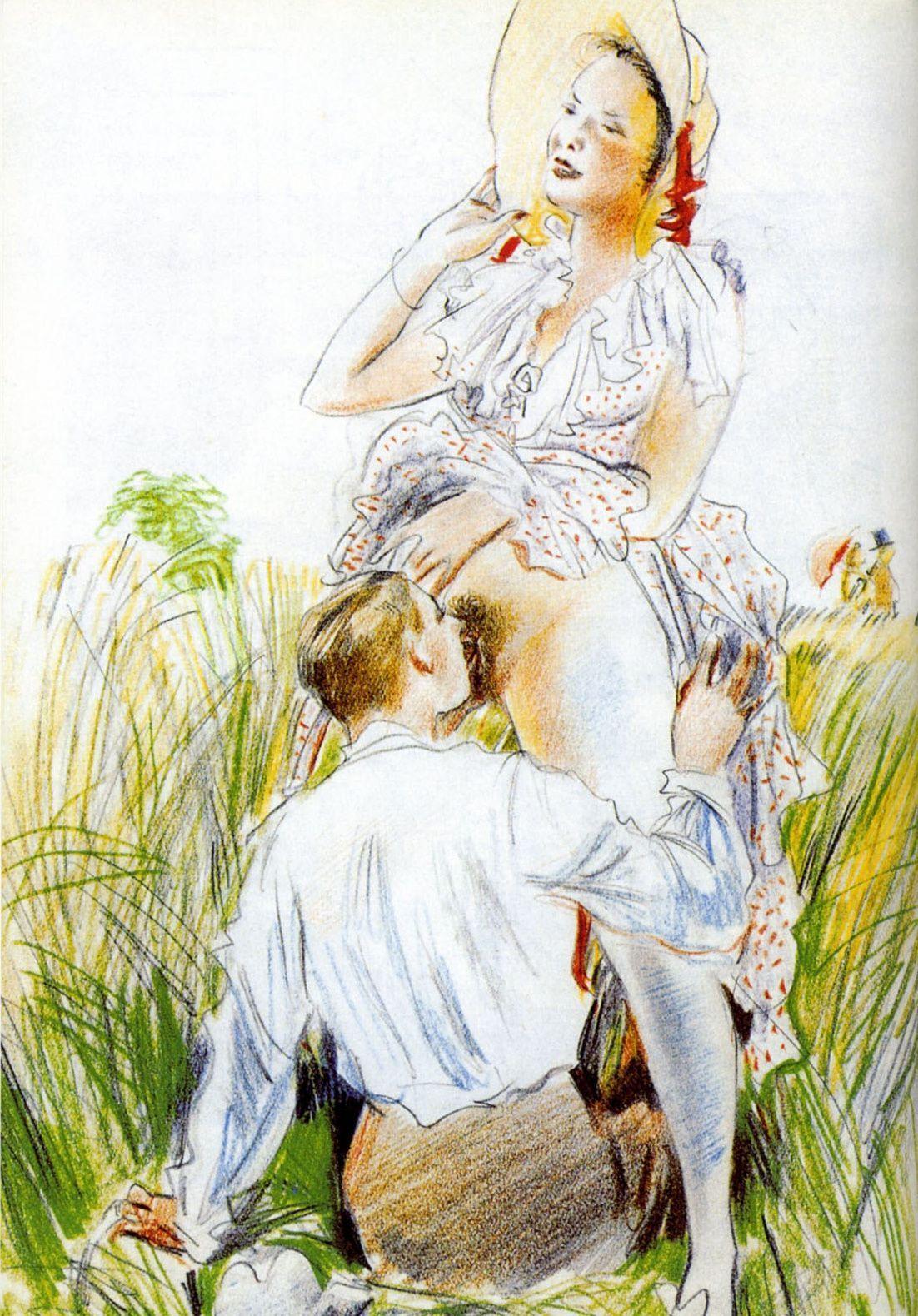Самом деле эротика в художественной литературе охранник