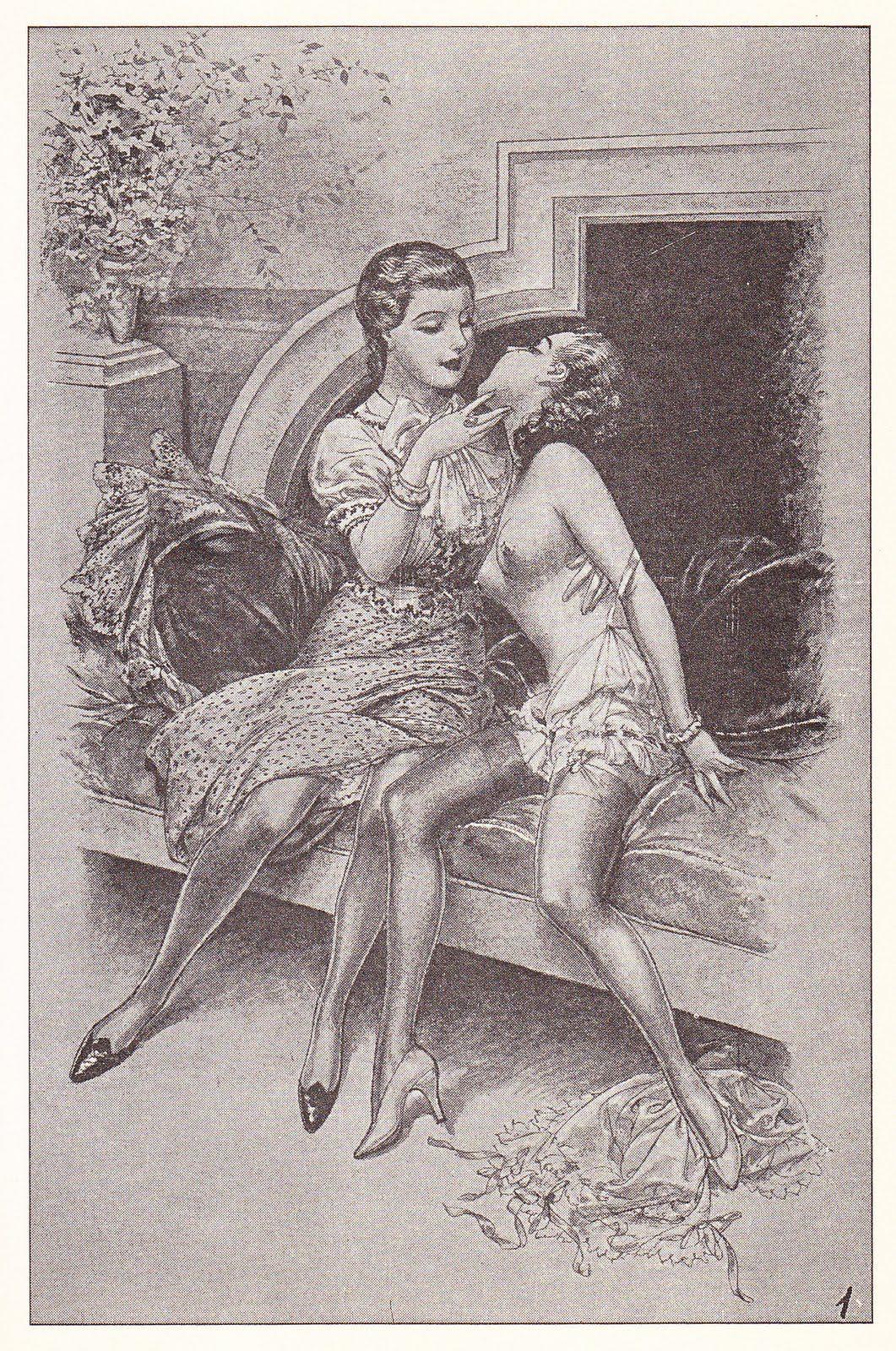 Vintage lesbian massage érotique vendée